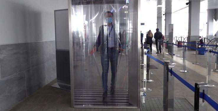 sanificazione aeroporto Bergamo