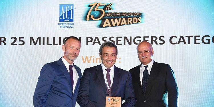 ADR: per il secondo anno Fiumicino è il miglior aeroporto d'Europa